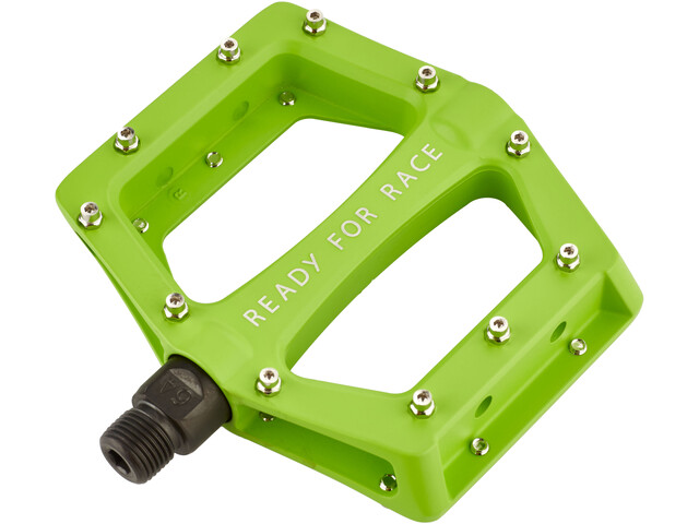 Cube RFR CMPT Flat Pedals green